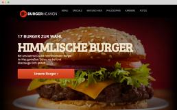cagefish - burgerheaven screen