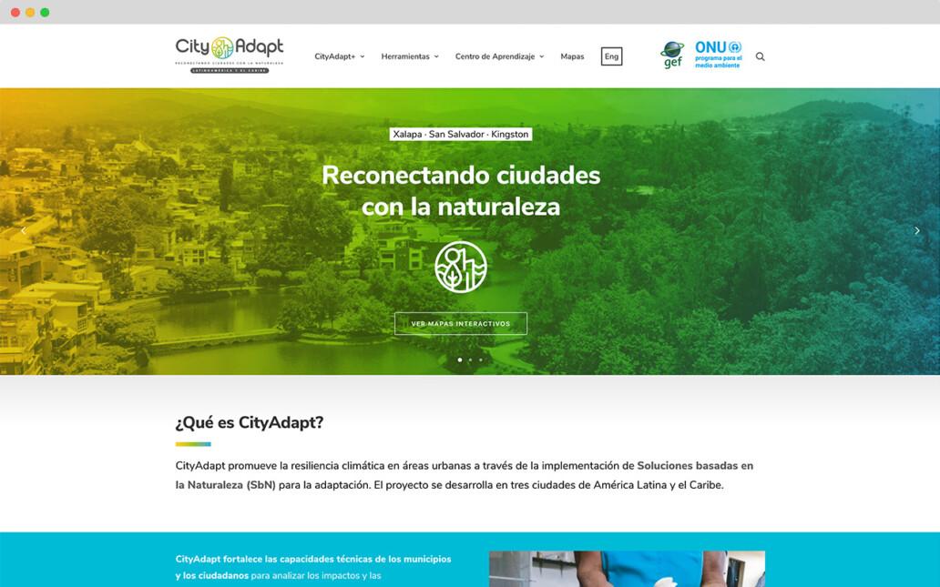 cagefish-webdesign-agentur-berlin-cityadapt-startseite